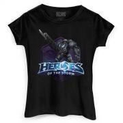 Camiseta Feminina Heroes Of The Storm Raynor