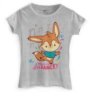 Camiseta Feminina Jaime Let´s Dance