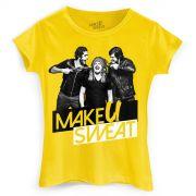 Camiseta Feminina Make U Sweat Foto