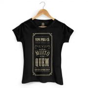 Camiseta Feminina SBT Frases 2