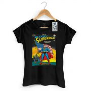 Camiseta Feminina Superman HQ Nº24