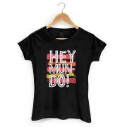 Camiseta Feminina Thiaguinho Hey Mundo!