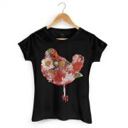 Camiseta Feminina Woodstock Bird