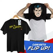 Camiseta Flip Up Superman