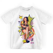 Camiseta Infantil Anitta Pop Art