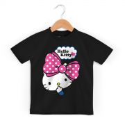 Camiseta Infantil Hello Kitty Big Ribbon