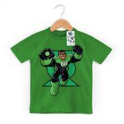Camiseta Infantil Lanterna Verde Em A��o