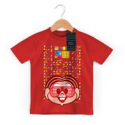 Camiseta Infantil Turma da M�nica 50 Anos Modelo 2 Anos 90