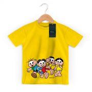 Camiseta Infantil Turma da Mônica Kids A Turma Modelo 2