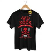 Camiseta Masculina 89FM A R�dio Rock We Rock Sampa Modelo 2