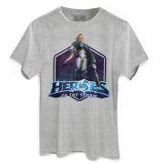 Camiseta Masculina Heroes Of The Storm Nova
