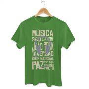 Camiseta Masculina Jo�o Rock Rock Nacional