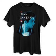 Camiseta Masculina Luan Santana Cantada