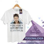 Camiseta Masculina Luan Santana Tanto Faz Colors