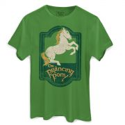 Camiseta Masculina O Senhor dos An�is The Prancing Pony