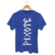 Camiseta Masculina Pixote Logo Blue