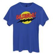 Camiseta Masculina The Big Bang Theory Bazinga!
