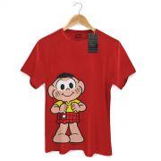 Camiseta Masculina Turma Da M�nica Kids Casc�o