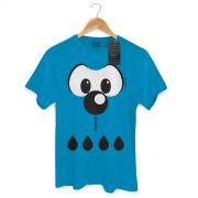 Camiseta Masculina Turma Da M�nica Kids Olh�es Bidu