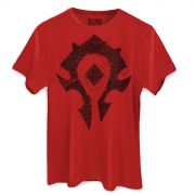 Camiseta Masculina World of Warcraft Horda
