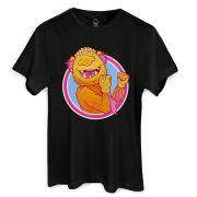 Camiseta Monstra Ma�� Lango Lango Black