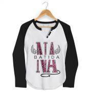 Camiseta Raglan Feminina Anitta Na Batida