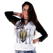 Camiseta Raglan Feminina Biel Type