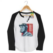 Camiseta Raglan Feminina Chaves Zaz! Zaz! Vintage