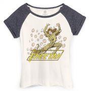 Camiseta Raglan Feminina DC Comics The Cheetah