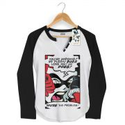 Camiseta Raglan Feminina Harley Quinn You�re The Problem