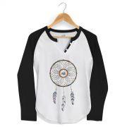 Camiseta Raglan Feminina Jo�o Rock Sonhos