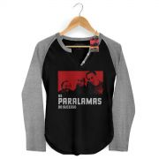 Camiseta Raglan Feminina Os Paralamas do Sucesso Photo