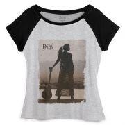 Camiseta Raglan Feminina Paula Fernandes Pronta pra Você