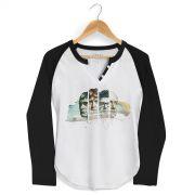 Camiseta Raglan Feminina Skank SK91 Velocia
