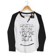 Camiseta Raglan Feminina Thiaguinho Simples Desejo