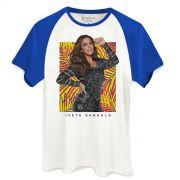Camiseta Raglan Masculina Ivete Sangalo Veveta Tropical