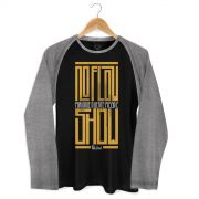 Camiseta Raglan Masculina MC Guimê No Flow