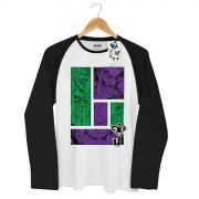 Camiseta Raglan Masculina The Joker Pictures