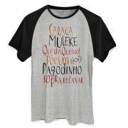 Camiseta Raglan Masculina Thiaguinho Que Dia, Que Isso!