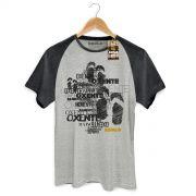 Camiseta Raglan Premium Masculina Saulo Oxente