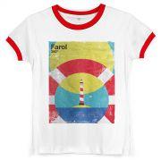 Camiseta Ringer Feminina Ivete Sangalo Farol 360º