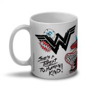 Caneca Wonder Woman She�s a Threat