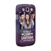 Capa de Celular Samsung Galaxy S3 Luan Santana Tanto Faz Foto