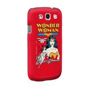 Capa de Celular Samsung Galaxy S3 Power Girls Mulher Maravilha