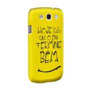 Capa de Celular Samsung Galaxy S3 Thiaguinho Simples Desejo
