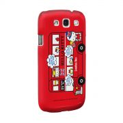 Capa de Celular Samsung S3 Hello Kitty London Bus 2