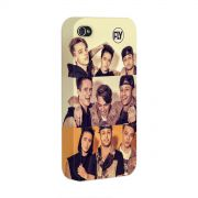 Capa para iPhone 4/4S Banda Fly Pictures