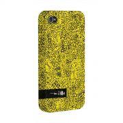 Capa para iPhone 4/4S Fino Farofa de Religião Yellow