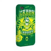 Capa para iPhone 4/4S Lanterna Verde Em A��o