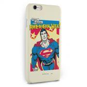 Capa para iPhone 6/6S Plus Superman Verdade, Justiça Ao Jeito Americano